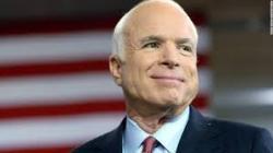 Nhân Cái Chết Của Ông John McCain